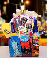 gift baskets nyc new york city theme gift baskets and souvenirs