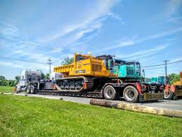Used Landscape Trucks by 2 Komatsu Cd110rs Rotating Track Dump Trucks Shipping Out
