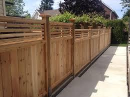 cedar fence panels backyard u2014 farmhouse design and furniture