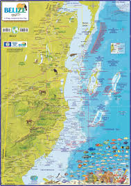 The Villages Map Maps Of Belize District Maps Of Belize City And Town Maps Of