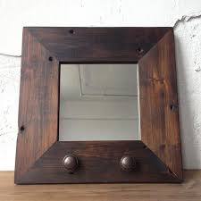 Reclaimed Wood Bathroom Mirror Reclaimed Vanity Mirrors Made In Any Size Handcrafted Just For