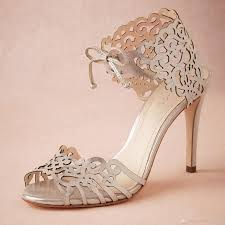 wedding shoes heels modern laser cut wedding shoes heels custom pumps tie closure