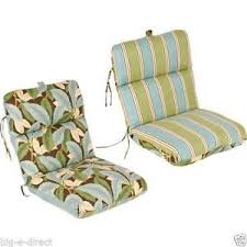 Porch Chair Cushions Patio Chairs Outdoor Plastic Lounge Cushions Ebay