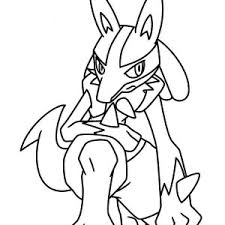 pokemon characters action coloring pages bulk color