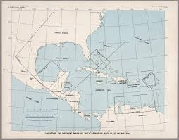map of the gulf of mexico index map location of oblique maps in the caribbean and the gulf