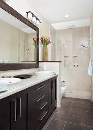 narrow bathroom ideas and narrow guest bath eclectic bathroom other metro