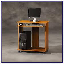 Computer Desk With Tower Storage by Sauder Beginnings Computer Desk With Cpu Storage Tower Desk