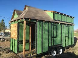 Tumbleweed Tiny House Trailer by Tumbleweed Tiny House Amish Barn Raiser Tiny House Listings