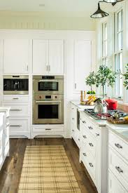 Espresso Cabinet Kitchen White Wellborn Cabinetry In The 2015 Southern Living Idea House