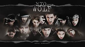 wallpaper exo wolf 88 exo wolf exo wolf hug kiss wallpaper i want to have this exo