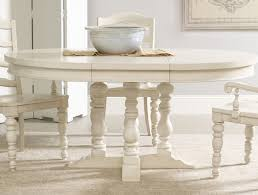 Delighful White Round Pedestal Dining Table N To Decorating - Antique white pedestal dining table