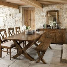 mango wood dining table axbridge mango wood extending x leg dining table and 6 chairs