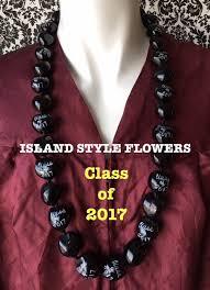 Graduation Leis Graduation Lei Class Of 2017 Kukui Nut Lei Promotion Lei