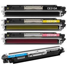 Basta KIT Cartucho Toner HP CE31xA/CF35xA MAGENTA + AZUL + AMARELO +  @PT86