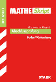 Baden Englisch Matheskript Realschule Baden Württemberg Stark Verlag