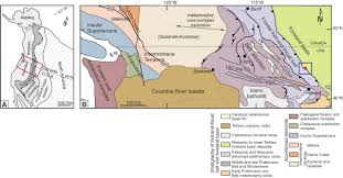 Montana Time Zone Map by Jurassic Onset Of Foreland Basin Deposition In Northwestern