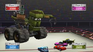 mater monster truck video cars toon mater u0027s tall tales wii amazon co uk pc u0026 video games