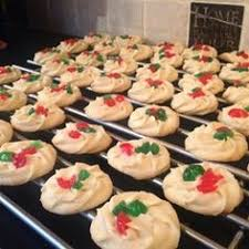mom u0027s whipped shortbread recipe electric cookies and cherries