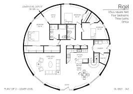 Monolithic Dome Homes Floor Plans Floor Plan Dl 5501 Monolithic Dome Institute