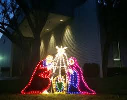 outdoor lighted nativity sets for sale on outdoor lighting ideas