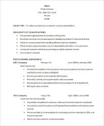 customer service representative resume 22 best customer service representative resume templates wisestep
