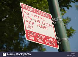 Permit Parking Chicago Map by Permit Parking Only Stock Photos U0026 Permit Parking Only Stock