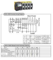 1000a 3 phase n solenoid type generator automatic transfer switch