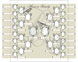 printable family tree template digital download custom family tree
