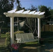 swing arbor plans 116 best pergolas structures with swings images on pinterest decks