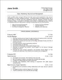 marketing resume format resume format for sales and marketing sales marketing resume