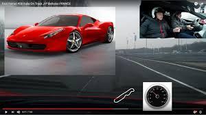 how fast is a 458 italia fast 458 italia on track j p beltoise