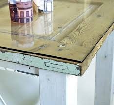 table with glass doors door table option of putting glass over for a flat surface ideas