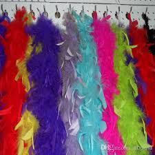 turkey feather boa chandelle feather turkey marabou boa fancy dress costume