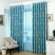 Teal Eyelet Blackout Curtains Asian With Blackout Curtains Drapes U0026 Valances Ebay