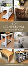 best 25 diy kitchen island ideas on pinterest build prepossessing