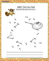 alphabet worksheets kindergarten u0026 trace and write the missing