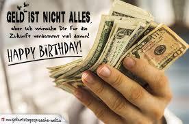 ich wünsche dir viel geld geburtstagskarte - Geburtstagssprüche Geld