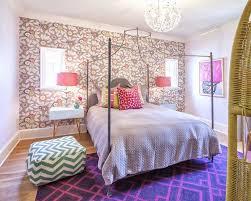 metal parsons bed transitional bedroom lichten craig architects