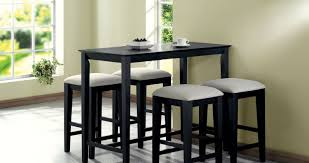 dining room shining black dining room table with butterfly leaf