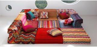 la roche bobois canapé canapé modulable contemporain en tissu 7 places et plus mah