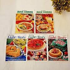 light and tasty magazine subscription taste of homes quick cooking cooking light incircle lot of 4