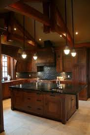 kitchen best rustic homes ideas on pinterest houses barn kitchen