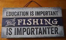 rustic primitive fishing u0026 hunting home décor hanging signs ebay
