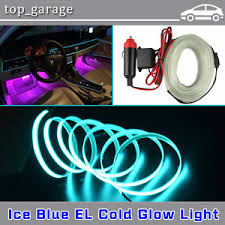 Led Strip For Car Interior Flexible Neon Light 5m Glow El Wire Ice Blue Led Strip Car