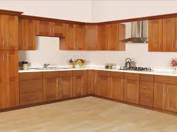 kitchen awesome teak wood kitchen cabinet give the best quality