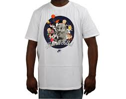 Jordan Clothes For Men Nike Air Jordan That U0027s All Folks Space Jam White Men U0027s T Shirt