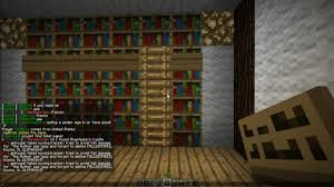 Bookcase With Ladder How To Make A Bookshelf With A Ladder In Minecraft Minecraft
