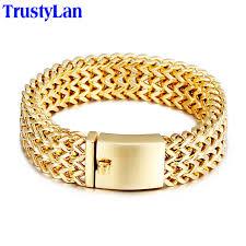 aliexpress buy new arrival men jewelry gold silver trustylan 2017 new brand bracelet men jewelry jewellery gift mens