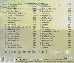 pat boone love letters in the sand greatest hits amazon com music