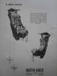 siege ejectable 8 58 pub martin baker mk a5 g5 ejection seat siege ejectable